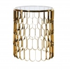 Deco Decadence Side Table