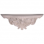 Romeo & Juliet Grey Carved Shelf