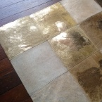 Midas Touch Hide Giant Patchwork Rug (Image 2)