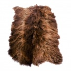 Rusty Brown Icelandic Sheepskin Rug