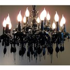 Hot Kroon Black Chandelier (Image 1)