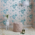 Large Lacey White Floor Lamp (Image 7)
