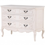 Provencal Carved 3-Drawer Chest