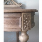 Antoinette Oak French Dressing Table (Image 3) by The French Bedroom Company