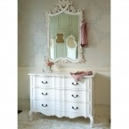 Provencal Classic White Chest of Drawers (Image 2) by The French Bedroom Company