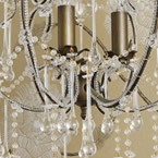 Frou Frou Glass Chandelier (Image 3) by The French Bedroom Company