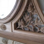 Antoinette Oak French Dressing Table (Image 2) by The French Bedroom Company