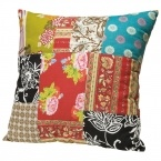 Romany Patchwork Cushion