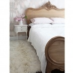 Antoinette Oak French Luxury Bed (Image 1)