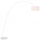 Belleville Arch White Floor Lamp (Image 2)
