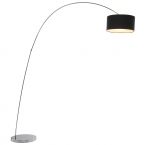 Belleville Arch Black Floor Lamp (Image 2)