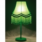 Fluoro Fringe Lime Green Table Lamp (Image 2) by The French Bedroom Company