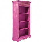 Eivissa Pink Bookcase Shelves