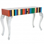Louis Striped Console Table