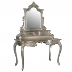 Sylvia Silver Grande Dressing Table (Image 1)