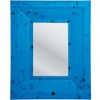 Azure Blue Wall Mirror