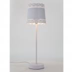 Little Lacey White Lamp (Image 4)