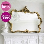 Miss Lala's Gold Looking Glass (Image 2) by The French Bedroom Company