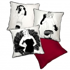 Brighton Burlesque Cushions (Image 1)