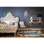 Miss Lala's Gold Looking Glass (Image 3) by The French Bedroom Company