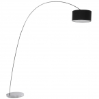Belleville Arch Black Floor Lamp (Image 1)