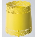 Little Lacey Yellow Lamp (Image 3)