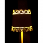 Little Lacey Yellow Lamp (Image 4)