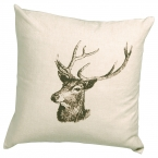 Buck Means Business Cushion