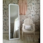 Blanc de Blancs Full Length Mirror