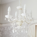Mimi 04-arm White Chandelier