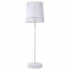 Little Lacey White Lamp (Image 1)