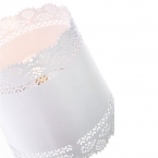 Little Lacey White Lamp (Image 3)
