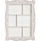 Arthouse Cluster Shelves in White (Image 3) by The French Bedroom Company