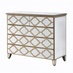 Alameda Mirrored Chest of Drawers