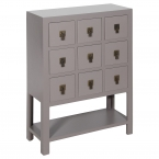 Rama & Sita Grey Chest of Drawers