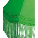 Fluoro Fringe Lime Green Table Lamp (Image 3) by The French Bedroom Company