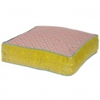 Festival Floor Cushion in Yellow