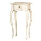 Ditsy Ivory Bedside Table