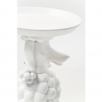 Obedient Poodle White Side Table (Image 5)
