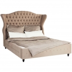 The Walton Bed in Beige