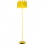 Large Lacey Yellow Floor Lamp (Image 1)