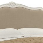 Provencal Linen Upholstered Bed (Image 2) by The French Bedroom Company