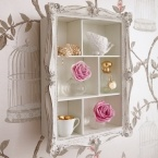 Arthouse Cluster Shelves in White (Image 2) by The French Bedroom Company