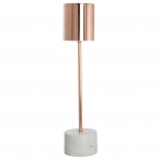 Rose Gold & Marble Lamp
