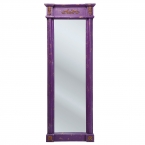 Penelope Purple Full Length Mirror