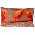 Crafty Canaries Cushion