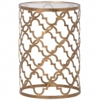 Quatrefoil Side Table