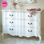 Provencal Classic White Chest of Drawers (Image 1) by The French Bedroom Company