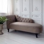 Indulge Satin Chaise Longue (Image 1)