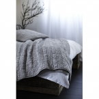 Ruffle Ruched White Bed Linen (Image 5)